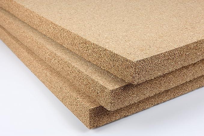 3 mm Kork Platte 915x610 mm Pinnwand Wand Decke Boden Dämmung Korkplatte
