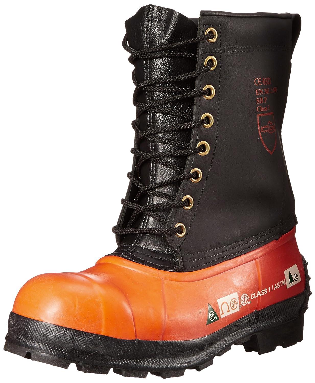 Viking Footwear Black Tusk Waterproof Steel Toe Boot Viking Industrial Footwear VW78-1