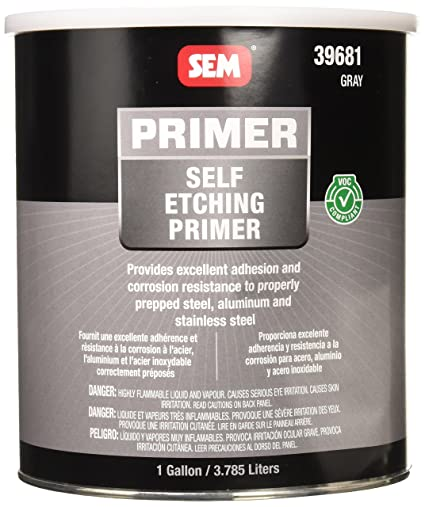 SEM 39681 VOC Grey Self Etching Primer - 1 Gallon