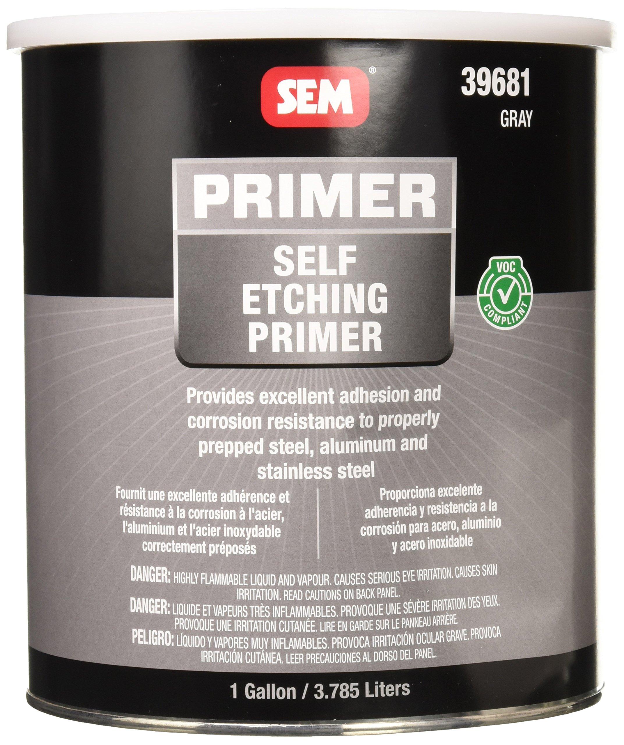 SEM 39681 VOC Grey Self Etching Primer - 1 Gallon