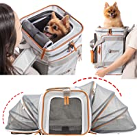 PETCIOUS Airline Approved Pet Carrier Backpack Under seat, Soft Unique Dog Purse Travel Carriers Backpacks for Hiking…