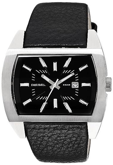 Diesel DZ1116 DZ1116 - Reloj de mujer de cuarzo, correa de piel color negro: Diesel: Amazon.es: Relojes