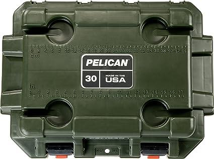 Pelican Elite Kühlbox Unisex Grün Braun Sport Freizeit