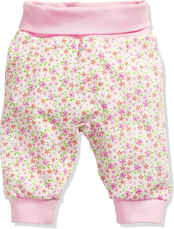 Schnizler Baby-Pumphose Interlock Blumen Pantaloni Sportivi Bimba