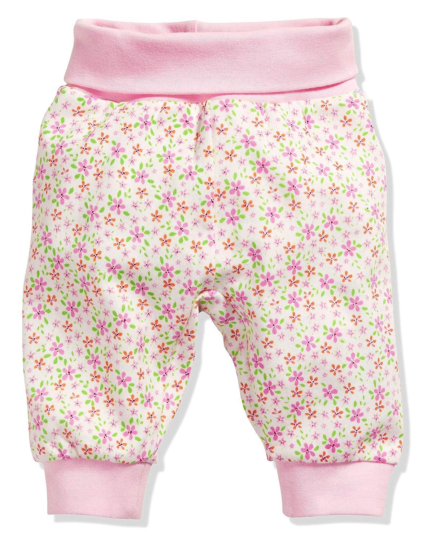 Babyhose Blumen Mit Elastischem Bauchumschlag Trousers Schnizler Baby Girls Pumphose