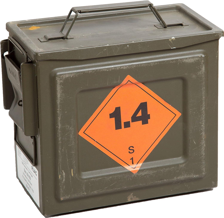 Original munición Caja S109 – Caja para guardar CA 26,5 x 14,5 x ...