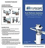TOPSCOPE FP3518M - Fuel Pump Module Assembly E3518M fits 2000-2005 Buick Lesabre/Park Avenue, Pontiac Bonneville, Cadillac Deville/Seville