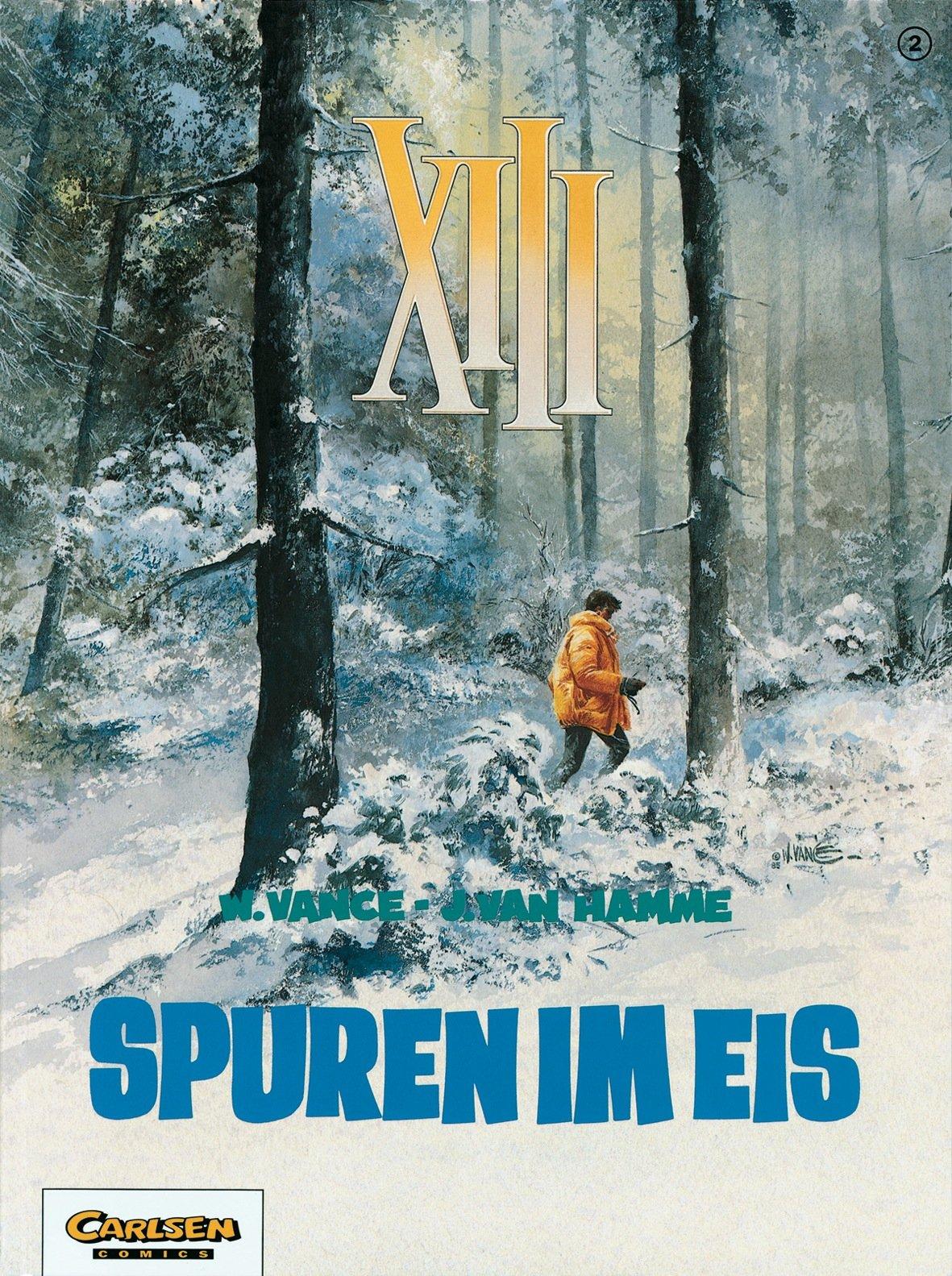 XIII, Bd.2, Spuren im Eis