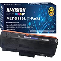 HI-Vision Compatible Toner Cartridge Replacement for Samsung MLT-D116L MLTD116L D116L 116L High Yield Black Work with…