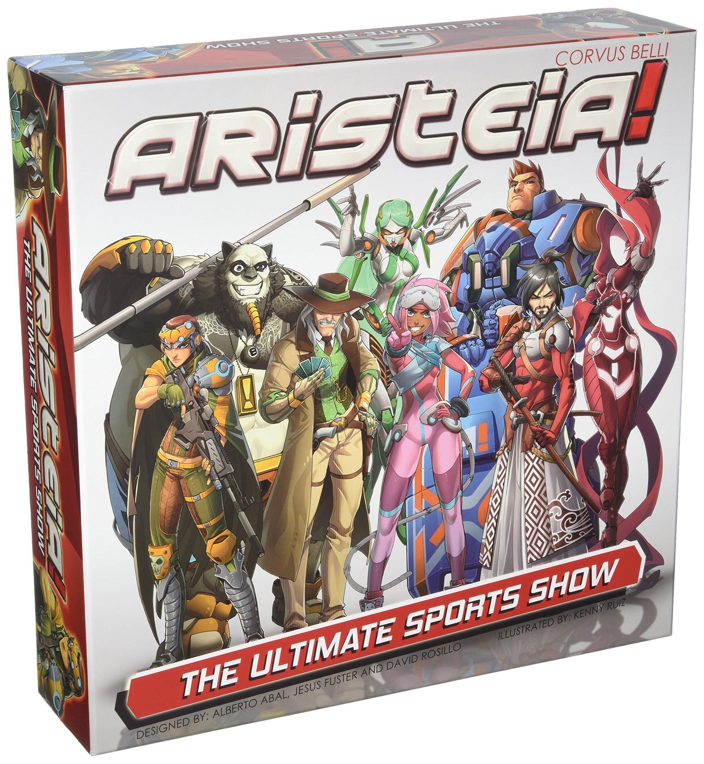 Corvus Belli Infinity-Aristeia Strategy Board Game