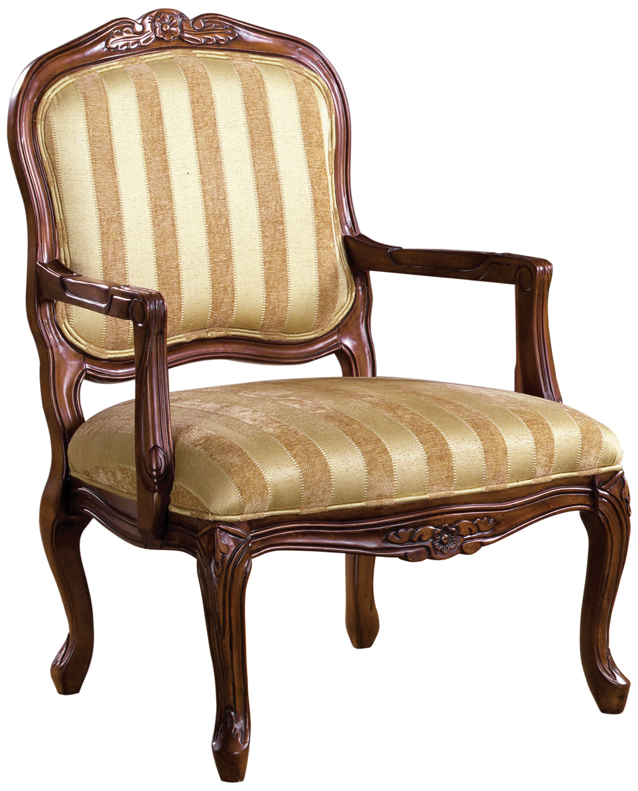 Furniture of America Solimar Arm Chair, Antique Oak by Furniture of America