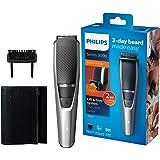 Philips Tondeuse pour barbe Série 3000, 20longueurs de barbe - Pour une barbe de 3jours impeccable