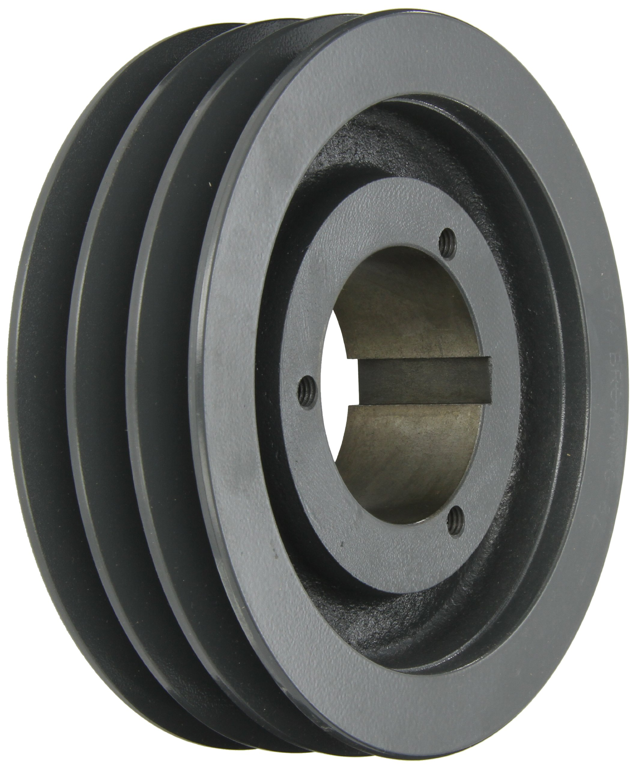 Browning 3TB74 Split Taper Sheave, Cast Iron, 3 Groove, A or B Belt, Uses Q1 Bushing