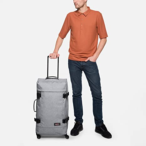 Amazon.com: Eastpak TRANS4 WHEELED HOLDALL LARGE (SUNDAY GREY): Sports & Outdoors