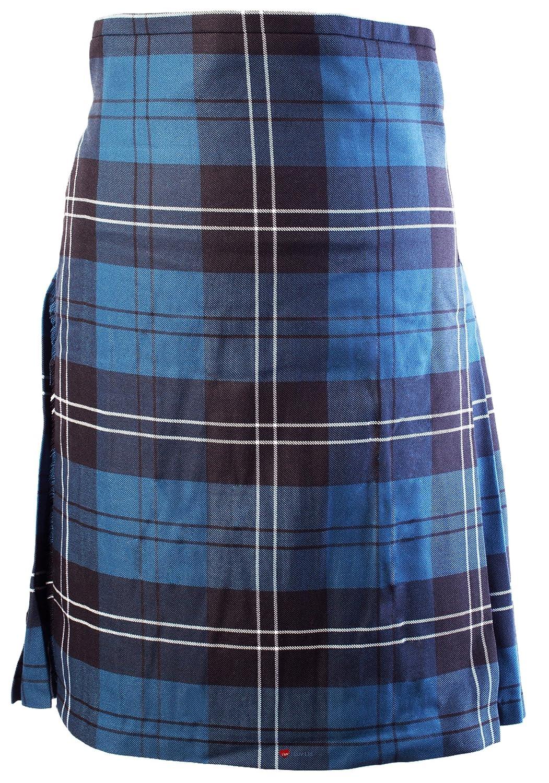 Mens Highland Traditional 8 yard with 24 inch drop Kilt Tartan