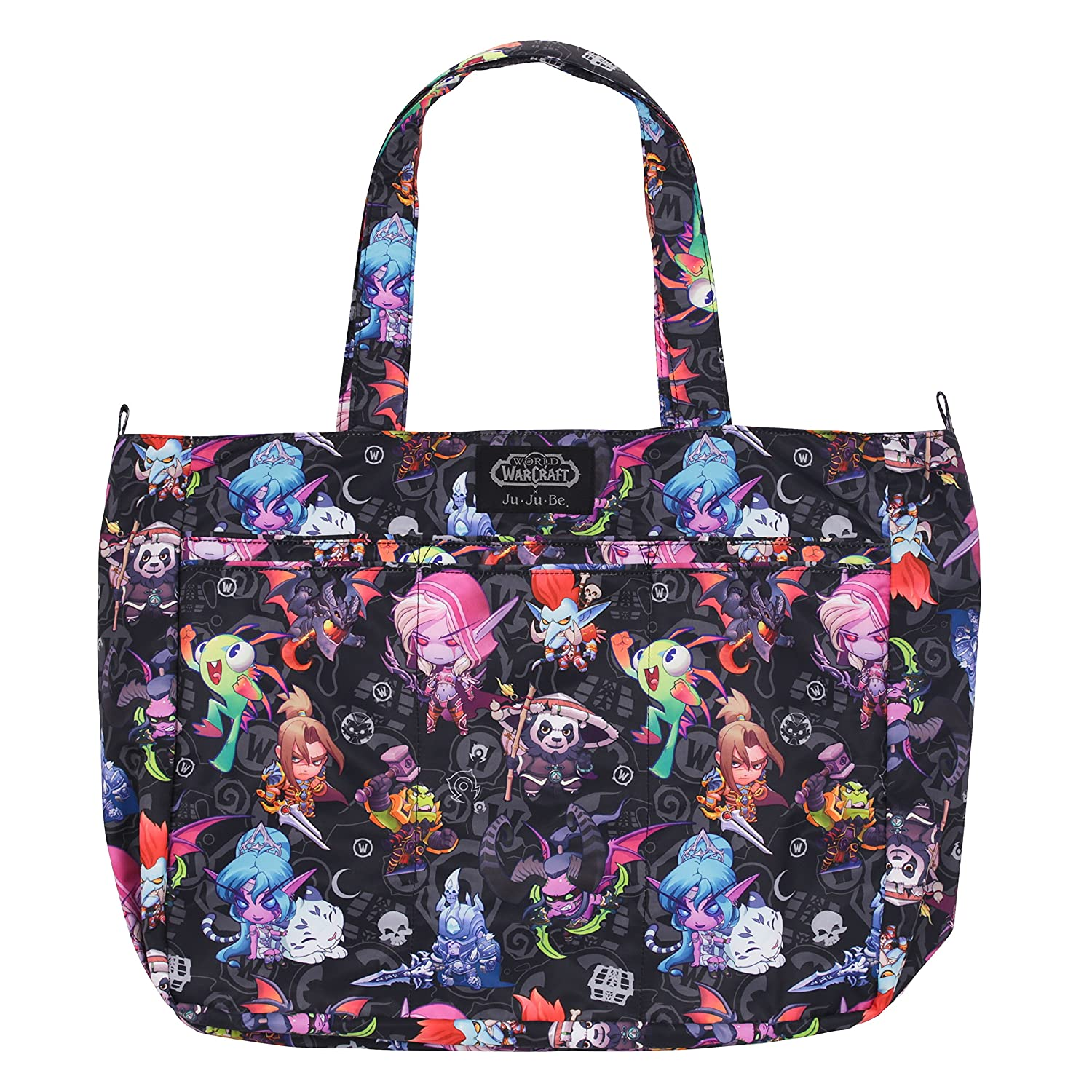 de2df73d340d5 Amazon.com : JuJuBe Super Be Large Everyday Lightweight Zippered Tote Bag,  World of Warcraft Collection - Cute But Deadly : Baby
