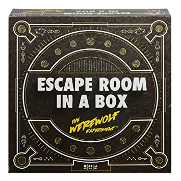 picture relating to Free Printable Escape Room Kit identify Escape Place inside of a Box: The Werewolf Experiment, Board Activity for Grown ups and Young children 13+