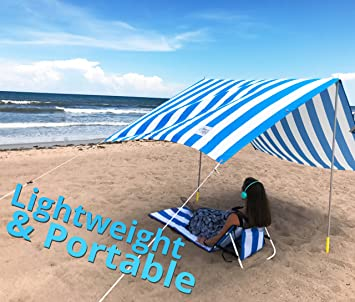 Beach Canopy u2013 Large Lightweight Weatherproof Beach Tent with More UV Protection than : beach tents amazon - memphite.com