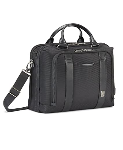 d2a30a4c07a4 Travelpro Crew Executive Choice 2 Pilot Under-Seat Brief Bag, 16-in with  USB port