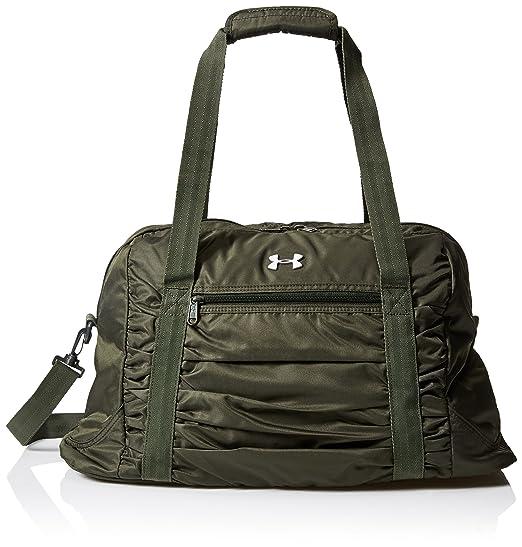 1394e3922bf Amazon.com: Under Armour Women's The Works Gym Bag, Artillery Green ...