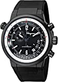 Salvatore Ferragamo Men's FQ2020013 F-80 Black Ion-Plated Stainless Steel Watch