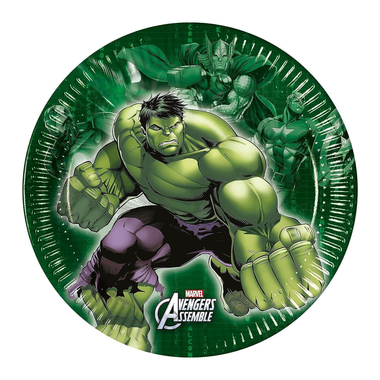 Marvel Party, Tarjetas de Invitación Los Vengadores, 6 Unidades