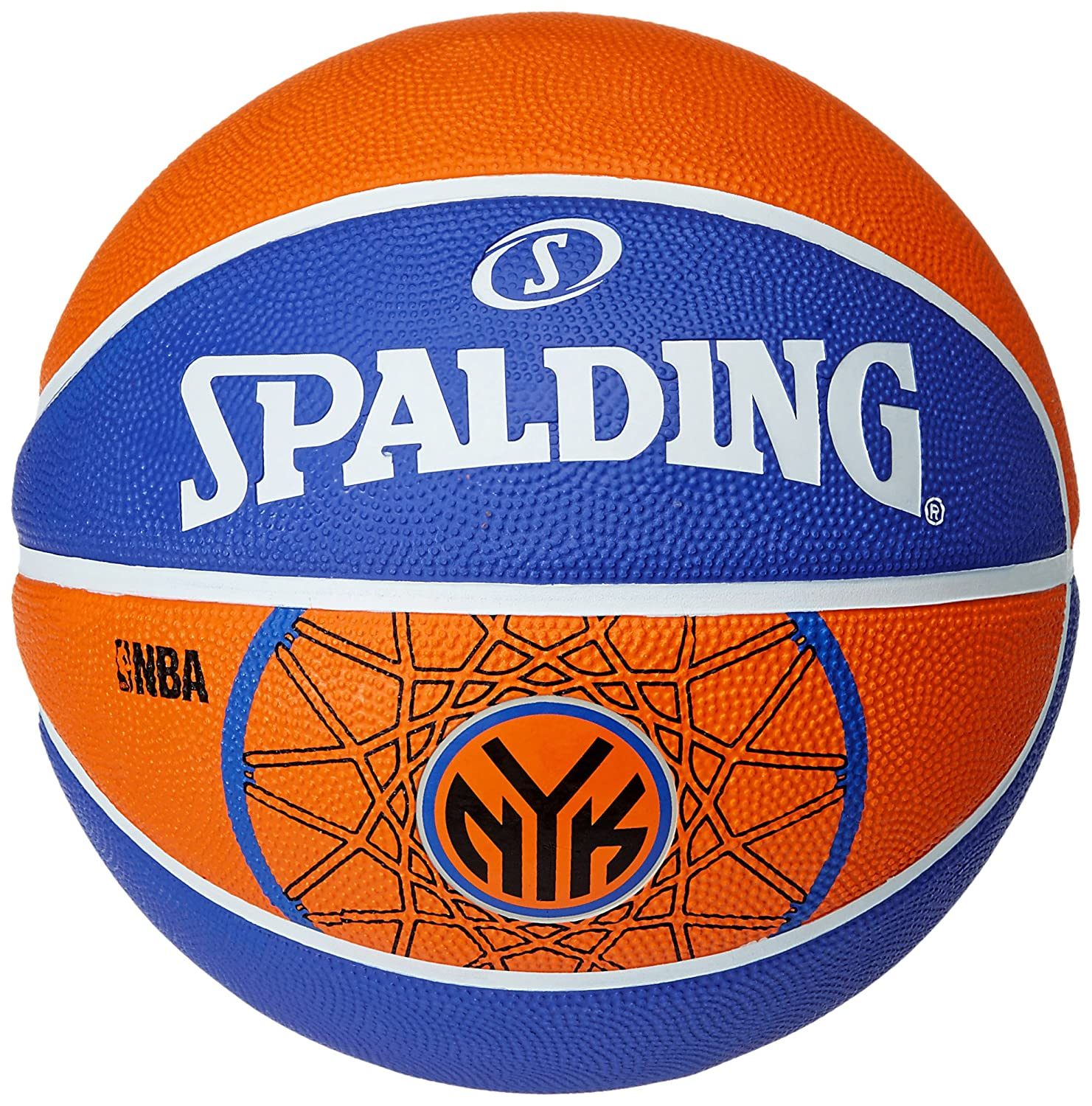 Spalding New York Knicks Basketball-Ballon Taille 7 3001587012017