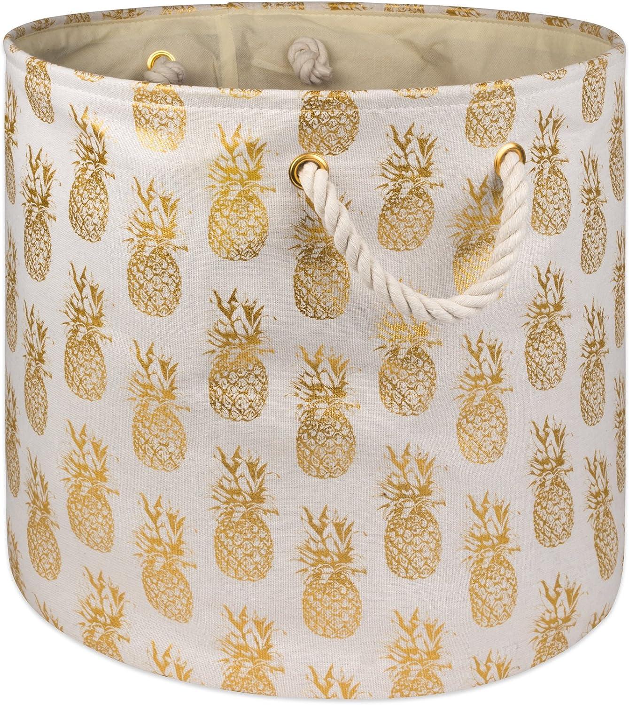 DII CAMZ10366 Polyester Storage Bins, 15x16x16, Pineapple