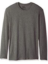 Hanes Mens Dyed Thermal Crew with FreshIQ Thermal Underwear Top