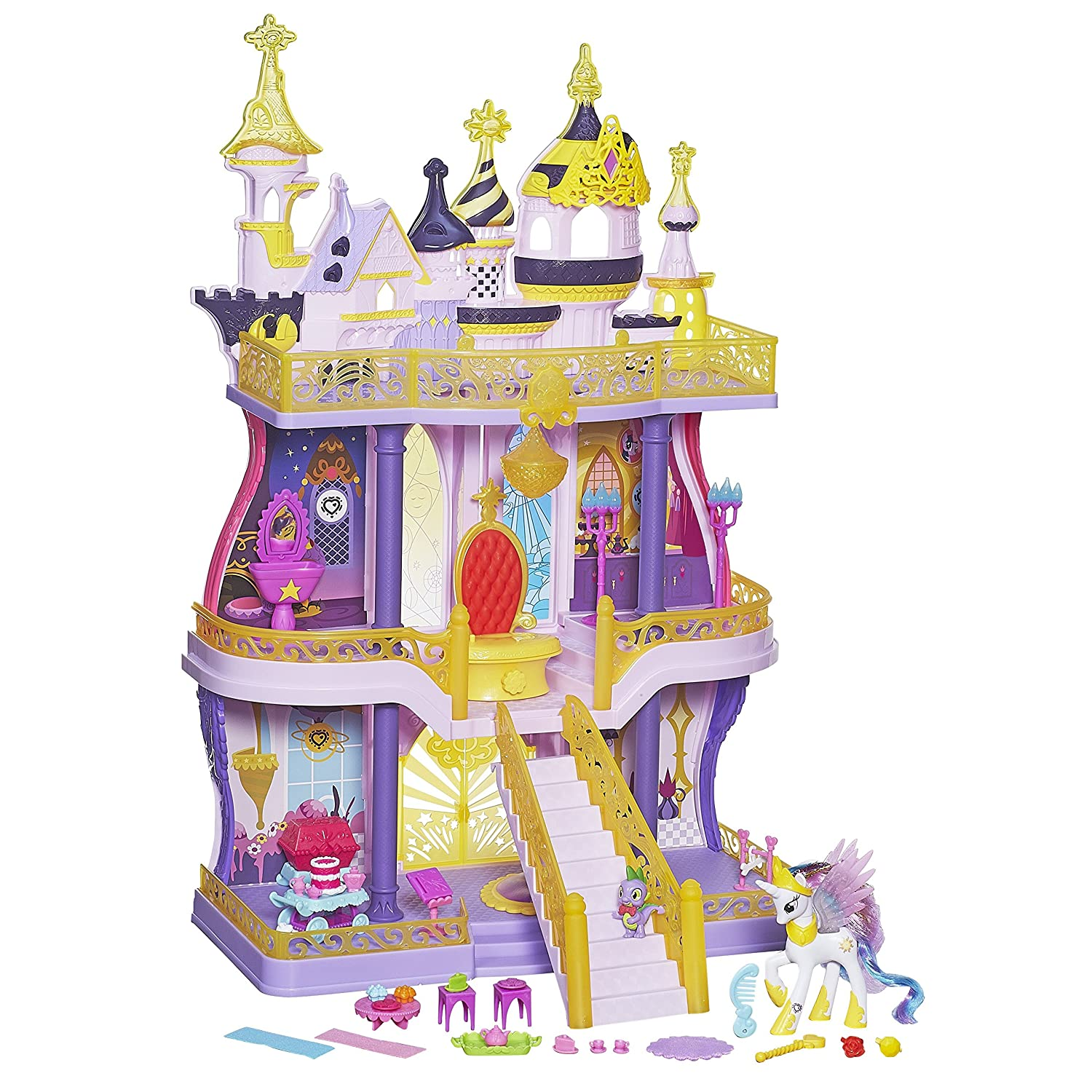 My Little Pony Cutie Mark Magic Canterlot Castle Playset Hasbro B1373
