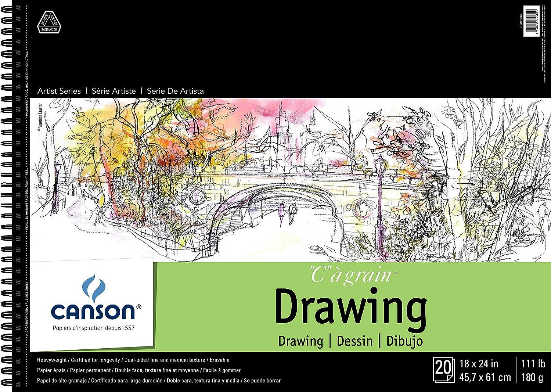 Canson Artist Series C /à Grain Drawing 11 x 14