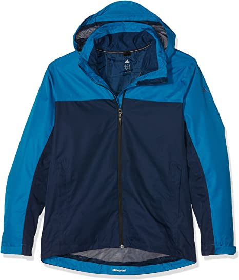 adidas Wandertag J CB Anorak pour Homme, Bleu 186, Taille