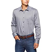 Van Heusen Classic Relaxed Fit Business Shirt, Charcoal, 41 94