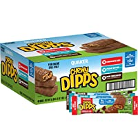 Deals on 48-Pack of Quaker Chewy Dipps Chocolatey Covered Granola Bars