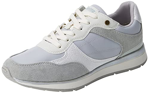 MTNG Nanami, Zapatillas de Deporte para Mujer, Gris (Soft Grisnylonka Grisrato Blanco), 38 EU