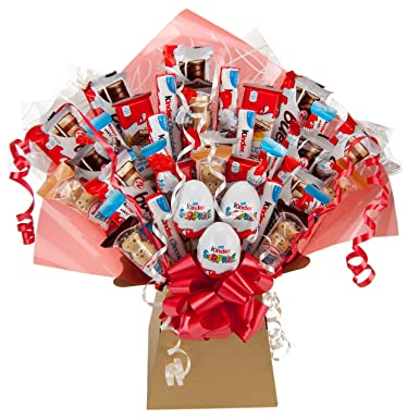 Kinder xl chocolate bouquet 41 piece tree explosion gift hamper kinder xl chocolate bouquet 41 piece tree explosion gift hamper selection box perfect gift negle Images