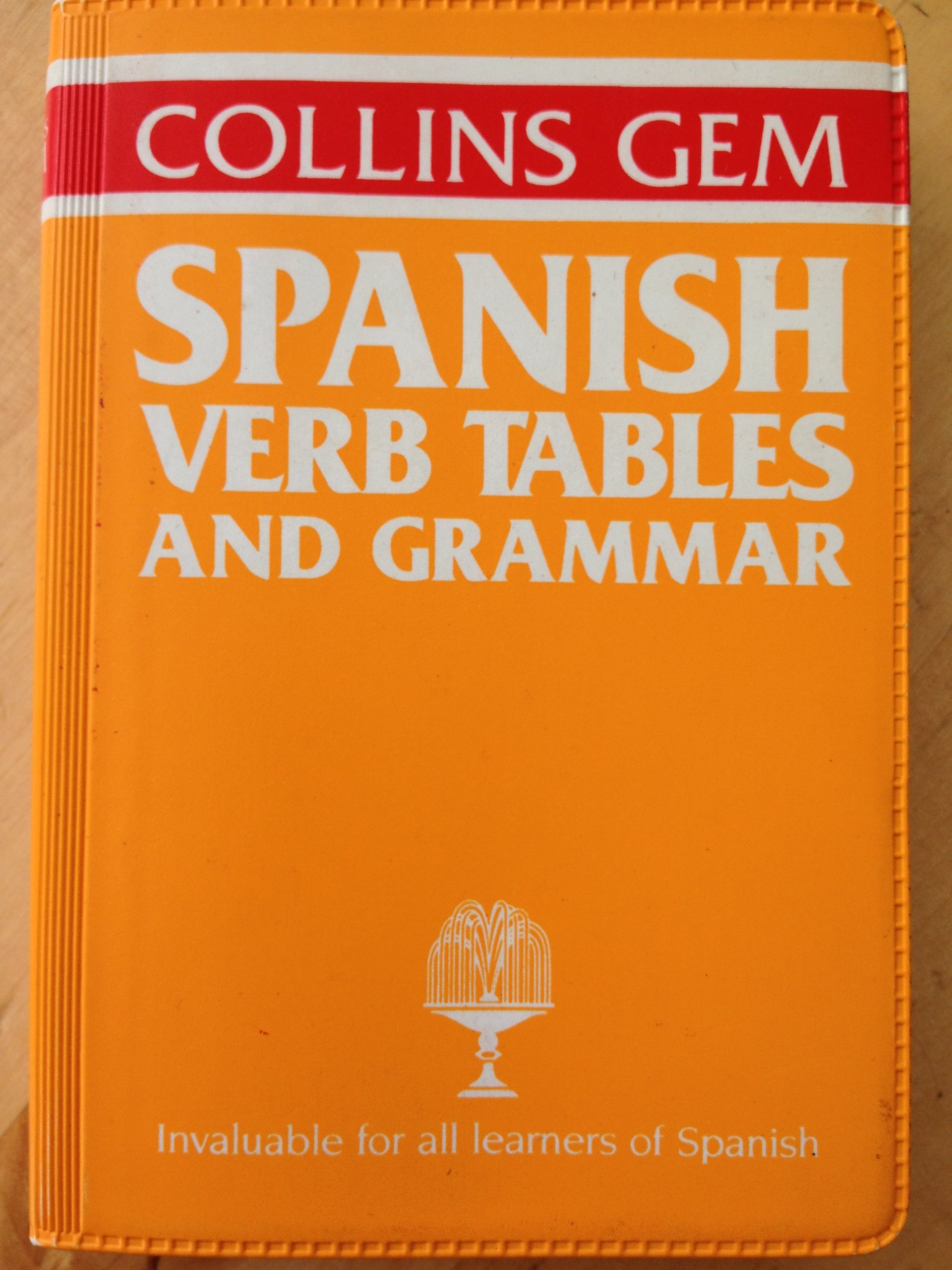 Collins Gem Spanish Verb Tables and Grammar (Gem Dictionaries): Alicia de  Benito de Harland, I.F. Ariza: 9780004593401: Amazon.com: Books
