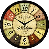 IT2M 11.75 Inches Designer Wall Clock for Home/Living Room/Bedroom / Kitchen (9084)