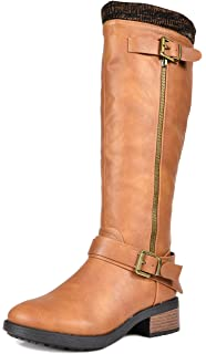 d0ca44f1f56 DREAM PAIRS Women s Knee High Riding Boots