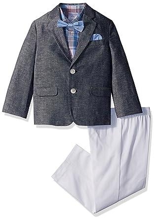 Nautica Niños Suit Set Traje Entero - Azul - 3 años: Amazon ...