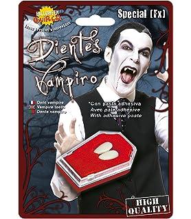 UEB 1set Dentiera da Vampiro in Resina Denti da Vampiro per ... 8a69e1484d74