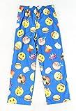 Batman Big Boys' Lounge Pant, Emoji Blues, Large