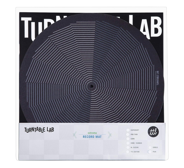 Turntable Lab: LeWitt Slipmat Record Mat (Single, Black)