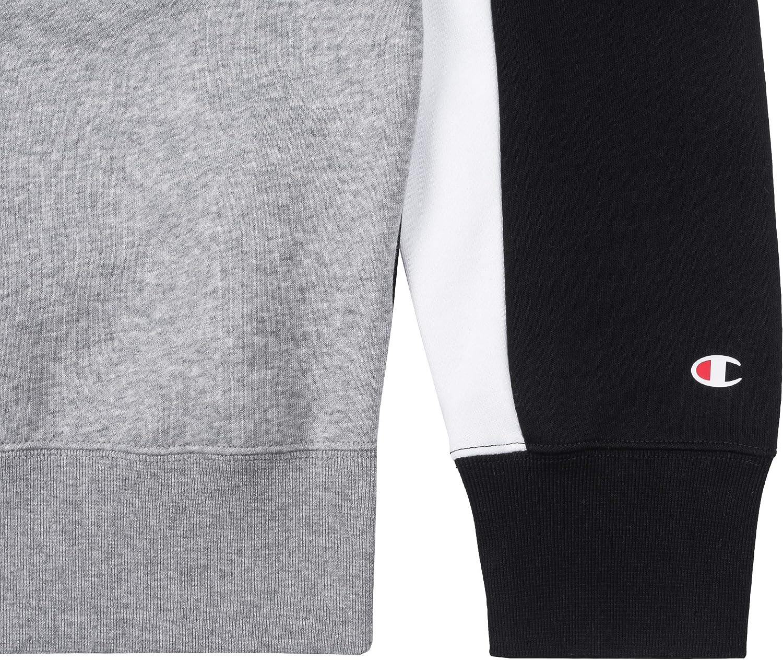 Champion Sweater Herren 213409 F19 BS501 Mehrfarbig Schwarz (Nbk)/Grau (Oxgm)/Weiß (Wht)