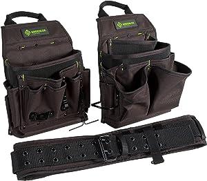 Greenlee 0158-16 Pouch/Belt Combo Bag