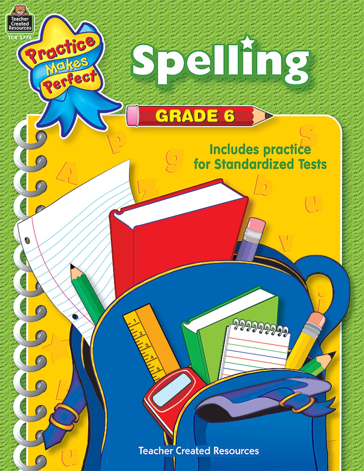 Download Spelling Grade 6 (Practice Makes Perfect (Teacher Created Materials)) ebook
