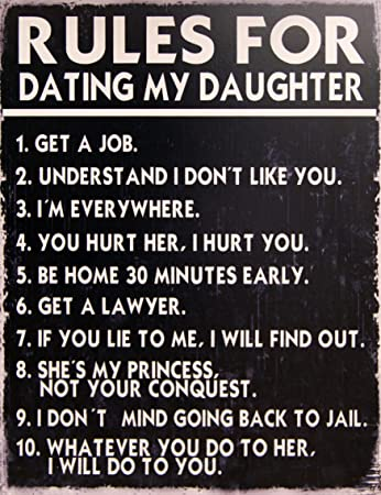 The rules of dating my daughter dating aquarius man tips