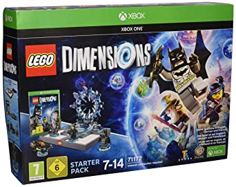 All Platforms LEGO Dimensions 267 Piece Building Set Part of Starter Pack
