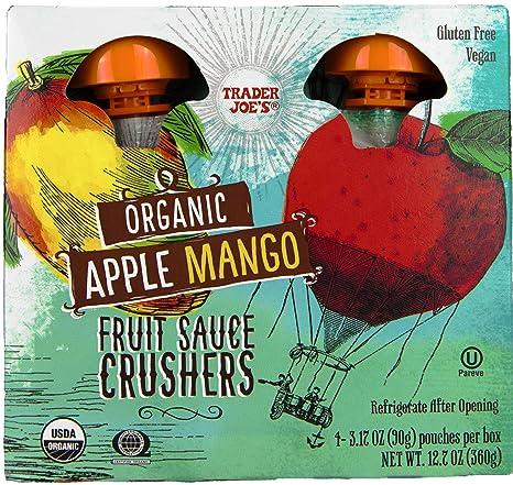 Image result for mango apple sauce trader joe's