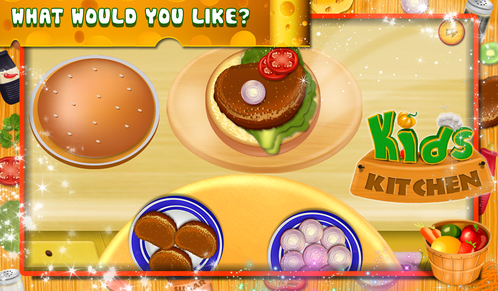 kids cooking games